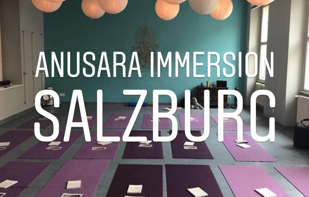 Anasura Immersion Salzburg 2019