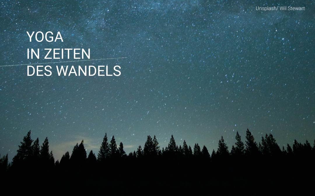 Sternenhimmel vor Wald